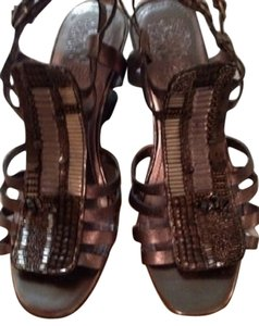Vince Camuto Pewter Gray Sandals