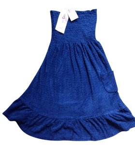 Juicy Couture short dress Blue Heart Terrycloth on Tradesy