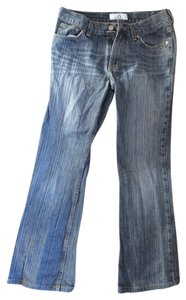 Armani Exchange Boot Cut Jeans-Dark Rinse