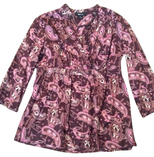 Preload https://item5.tradesy.com/images/style-and-co-multicolor-blouse-size-6-s-5616574-0-0.jpg?width=400&height=650