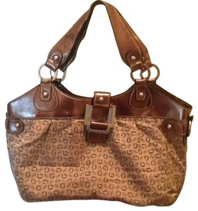 Guess Satchel in Bronze