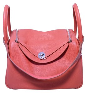 Hermès Lindy Clemence 30 Lindy Lindy Paris Rare Rare Color Pink Lindy Nwot Nwot Shoulder Bag