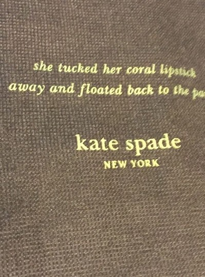 Kate Spade Kate Spade DRAWSTRING LARGE Brown Dust Cover 19.5 x 17.5 NEW NEVER USED