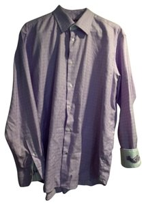 Robert Graham Button Down Shirt Purple