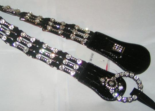 Katydid Sexy Smart Rhinestone Stretch Leather Belt Free Shipping
