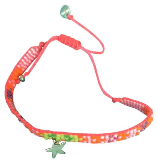 Mishky Pink/Multi-Color Bracelet with Falling Star
