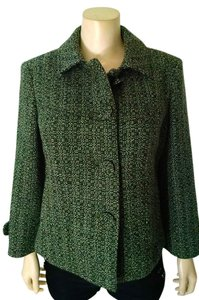 Ann Taylor Jacket Tweed Pea Coat
