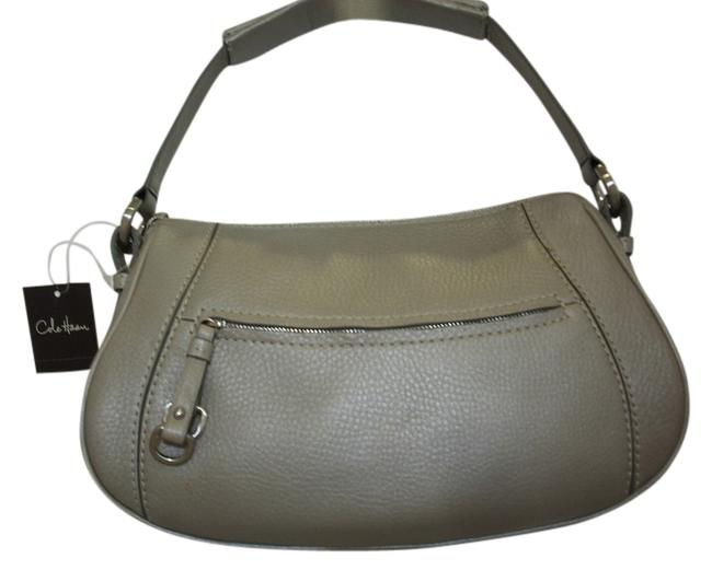 Item - Village Collection Small New with Tags Adjustable Straps Gray Silver Leather Hobo Bag