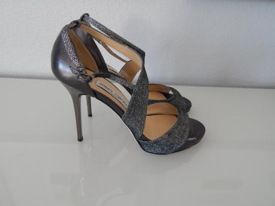 Jimmy Choo Louboutin Wedding silver Formal