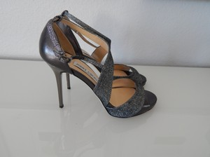 Jimmy Choo Tyne Sandal Silver Wedding Shoes