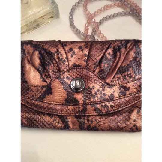 Style & Co Bronze, Black Clutch