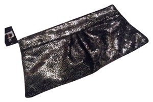 Style & Co Silver, Black Clutch