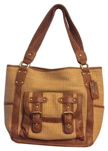 Carlos by Carlos Santana Satchel in Camel