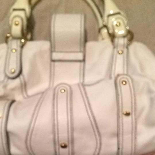 Valentino Satchel in White
