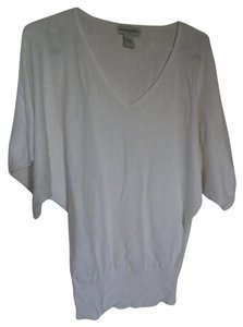 Banana Republic Dolman Sleeves Evening Top off-white