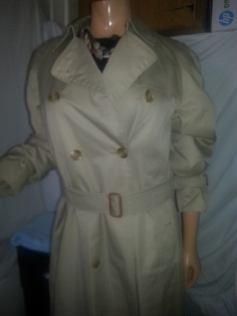 Burberry Size M Double Breasted Trench Coat