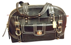 1d2f8d59a Added to Shopping Bag. Coach Vintage Leather Limited Edition Satchel in  Black