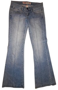 Mossimo Supply Co. Boho Bohemian Flare Leg Jeans-Light Wash