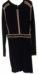 Marc by Marc Jacobs Navy Pleated Dress