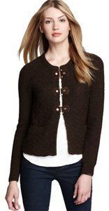 Tory Burch Brown Fall Winter Jacket Outerwear Cardigan
