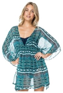 Jessica Simpson JESSICA SIMPSON DIAMOND DAZE CHIFFON LIKE SWIMSUIT COVER UP XL