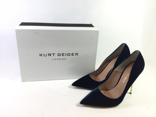 KG Kurt Geiger Italy Luxury Britton Teal Pumps