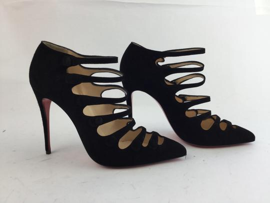 Christian Louboutin Vildo 140 Mm Platform Black Pumps