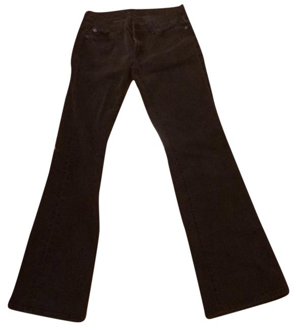 7 For All Mankind Crystal Pockets Lightening Bolts Boot Cut Jeans