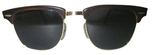 Ray-Ban Bausch & Lomb Ray-Ban Clubmaster Sunglasses w/Case Classic Vintage Design