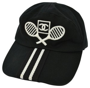 Chanel Authentic CHANEL Tennis Baseball Hat CC Logo