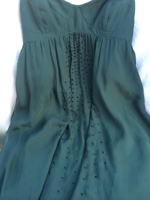 Haute Hippie New With Tags Silk Strapless Sequined Dress
