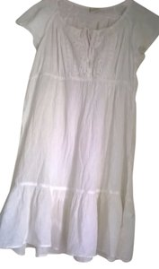 Sonoma short dress WHITE on Tradesy