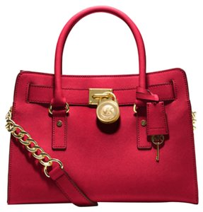 Michael Kors Satchel in Red