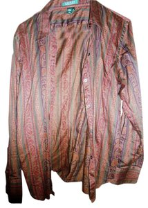 Ralph Lauren Top Brown Multi Color