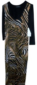 Animal Print Maxi Dress by Karen Kane