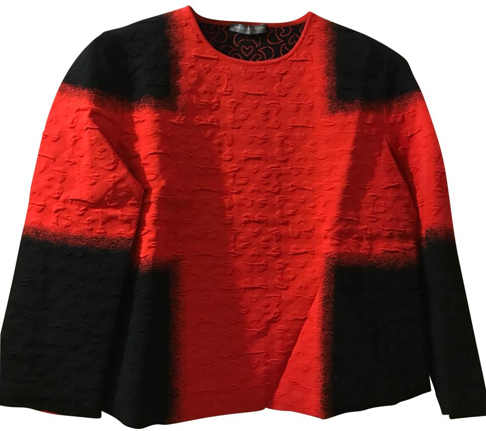 watch 44f09 d47ce Alexander McQueen Made In Italy Red & Black Sweater