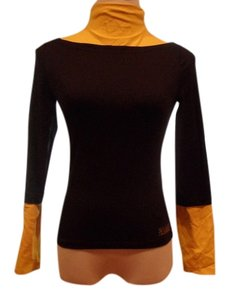 LAVIE MONTE-CARLO Top BLACK & YELLOW