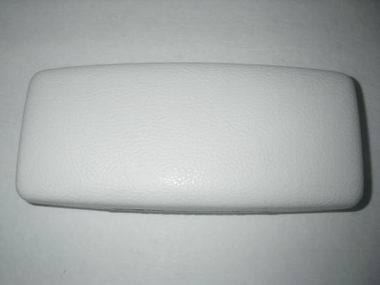 Versace White Versace Sunglasses/Eyeglasses Case ONLY Exc. w/Cleaning Cloth