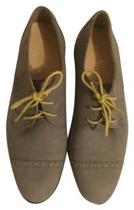 Cole Haan Grey and yellow Flats