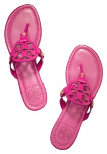 Tory Burch Dark Fucshia Sandals