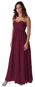 Other Faship Sweartheart Chiffon Gown Dress