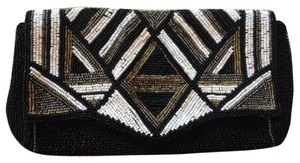 Express Mutli Color Beaded Clutch