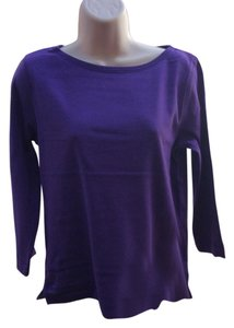 Jones New York T Shirt Purple