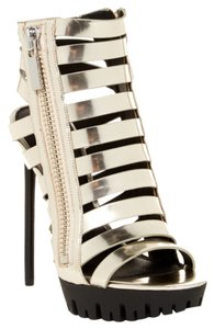 Rachel Zoe Party Silver Silver Hardware SILVER/BLACK Sandals