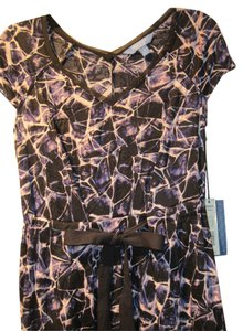 Vera Wang short dress Black/Purple/Pink/White on Tradesy