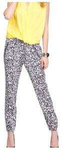 bebe Baggy Pants Animal print
