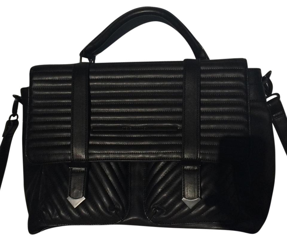 6d895c8a7b Steve Madden Black Laptop Bag - Tradesy