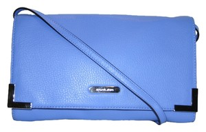 MICHAEL Michael Kors Soft Oversized Large Evening Bright Blue Clutch