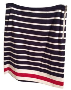 Banana Republic Mini Skirt Stripes
