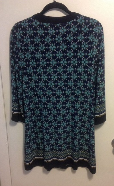 Style & Co short dress blue, black on Tradesy